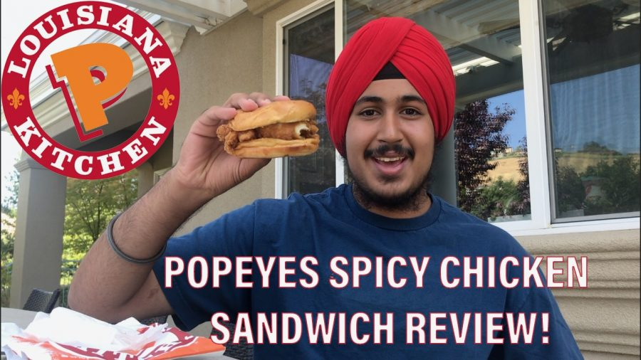 Zoraverated: Popeyes Spicy Chicken Sandwich