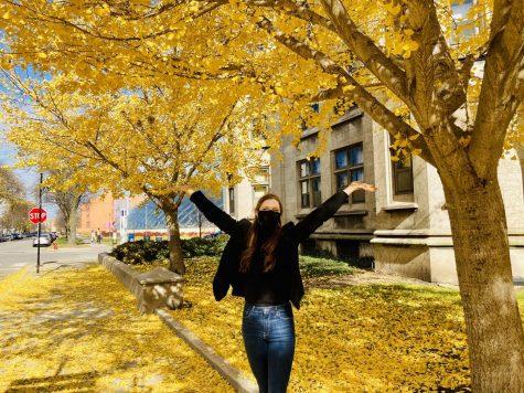 """Road trip to visit colleges!"" - Sophia Barthel, Bellevue, Washington"